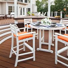 Trex Monterey Bay Outdoor <b>Bar Set</b> - <b>5</b>-<b>Pieces</b> - Black | Lowe's ...
