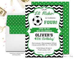 Soccer Party Invitations Soccer Party Invitations Soccer Party Invitations As A Result Of