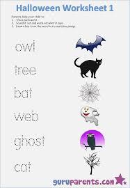 Halloween Worksheets for Kindergarten – careless.me