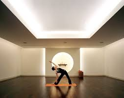 cove lighting ideas. Yoga Room Decor Treatment And Relaxation Reception Retail Area Cove Lighting Ideas