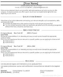 Entry Level Management Resume Objective Examples It Templates Epic Classy Resume Summary Statement Examples