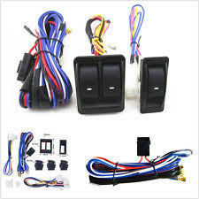 universal power window switch ebay nilight light bar installation at 12 Volt Wiring Harness Kit