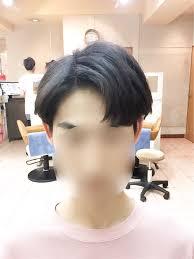 コンマヘアー쉼표머리韓国人男性に人気の髪型ダンディカットを