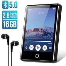 Máy Nghe Nhạc Ruizu M6 - Màn Hình Cảm Ứng 2.8 Inches, Bluetooth 5.0, Loa  Ngoài, Pin 50h - Hàng Chính Hãng - Máy nghe nhạc