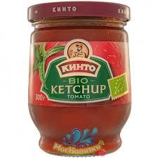Купить <b>Кетчуп</b> «<b>Кинто</b>» BIO <b>Ketchup Tomato</b>, 300гр   Mosnapitki.ru