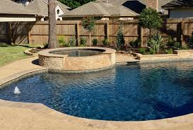 backyard amenities can create naturallooking pool shapes or geometric companies in houston s26