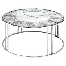 clock coffee table spitfire metal clock coffee table tables furniture glass clock coffee table clock coffee table