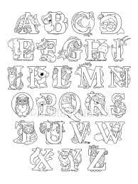 If your kids like to color, these alphabet coloring pages are sure to please! Animal Alphabet Coloring Page 8 5x11 Etsy