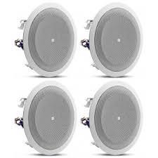 jbl in wall speakers. quick look jbl 8128 4pc 8 inch in-ceiling speakers jbl in wall l