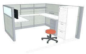 designer office desk isolated objects top view. Office Cubicle Design Layout. Layout O Designer Desk Isolated Objects Top View