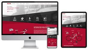 It Website Design Award Winning Website Design And Development Blue Compass