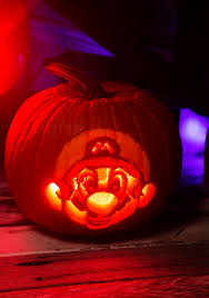 Mario Pumpkin Carving Patterns Amazing Decorating Ideas