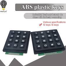12 16 Kunci 4*4 4*3 Membran Switch Keypad 4X4 4X3 Matrix Array matrix  Keyboard Membran Switch Keypad UNTUK Arduino keypad 12 keyboard  switchkeypad matrix - AliExpress