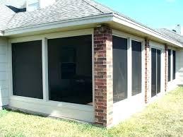 patio enclosures cost sunrooms glass porch enclosure vinyl patio enclosures cost glass