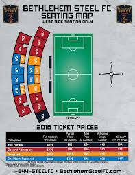 Lehigh Goodman Stadium Seating Chart Match Day In Bethlehem Steel Fc Vs Fc Cincinnati