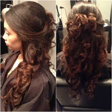 Wedding Half Up Hairstyles Half Hair Up Half Down Is A Graceful Hairstyle Which Looks