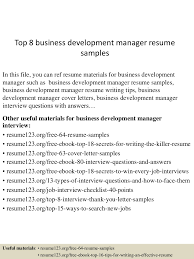 Business Development Manager Resume top100businessdevelopmentmanagerresumesamples100conversiongate100thumbnail100jpgcb=1100291001003101002 47