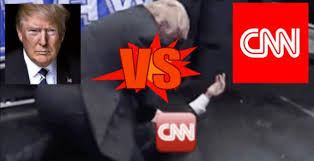 Image result for cnn vs trump