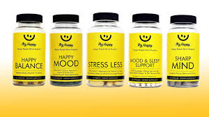 <b>My Happy</b>: Best Natural Supplements for Anxiety and Stress