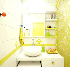 bathroom accessories decorating ideas. Black And Yellow Bathroom Decor Accessories Cool White Applied . Decorating Ideas M