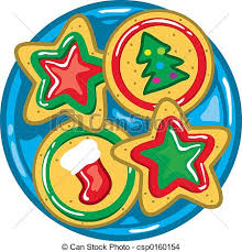 plate of christmas cookies clip art. Fine Clip Christmas Cookies  Csp0160154 With Plate Of Cookies Clip Art I