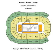 Comcast Arena At Everett Tickets And Comcast Arena At