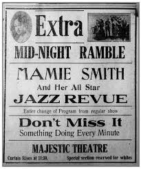 File:Newspaper Ad for Mamie Smith December 5, 1921.png - Wikimedia Commons
