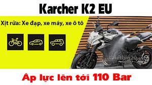 Giới thiệu và dùng thử máy rửa xe gia đình Đức karcher K2 Compact Car -  YouTube