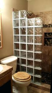 glass shower blocks glass block shower wall here we have a x walk in that incorporates sealing glass block window shower