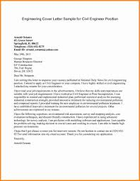 Best Ideas Of Sample Cover Letter For Job Application Civil