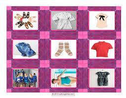 Fun Designing Clothes Games Clothing Fashion Card Game Esl Fun Games Remember To Have Fun