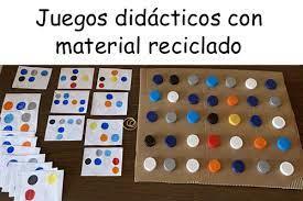 100 nuevos juegos matemáticos para trabajar los números y. Juegos Didacticos Con Material Reciclado Para Aprender Jugando