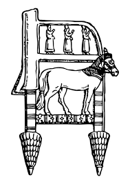 Kleurplaat Assyrische Stoel Afb 17314 Images