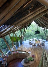 Interesting Treehouse Inside Sustainable Bamboo Tree House In Bali Home Design On Inspiration Decorating