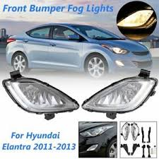 2013 Hyundai Elantra Bulb Chart Details About Pair Front Bumper Fog Light Clear Fog Lamp For Hyundai Elantra 2011 2012 2013