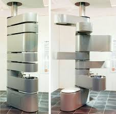 compact bathroom solution for small spaces