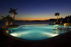 Le Meridien Lav SplitNight image of the infinity pool Flickr