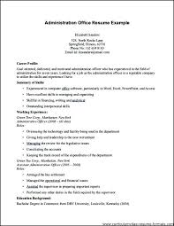 Administrator Resume Examples Sample Resume For Office Manager Dental Office Manager Resumes
