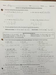 awesome collection of algebra 2 polynomial review answers with additional algebra unit review