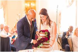 cleveland wedding photographer groomsmen in navy suits stan hywet fall wedding stan hywet