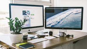 ways to decorate office. how to declutter your office desktop 6 2 ways decorate s