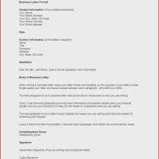 How To Draft A Business Letter Format For Dear Letter Refrence Draft Business Letter 270