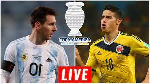 ? Argentina vs Colombia