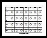 Smiley Face Behavior Charts For Weekly Free Printable