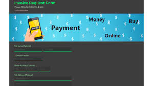 Health And Lifestyle Templates Contact Form Invoice Request Form