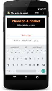 Phonetic alphabet lists with numbers and pronunciations for telephone and radio use. Nato Phonetic Alphabet Apps On Google Play