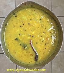 Bananthi Food Chart Kannada Cuisine 2018