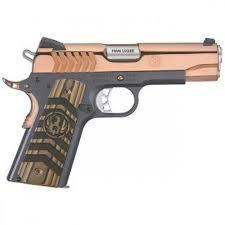 ruger sr1911 rose gold hi polish ss 9mm 4 25 inch 9rds