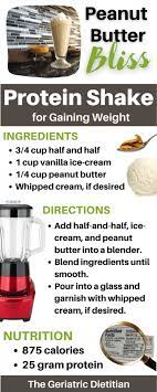 protein shakes for weight gain the