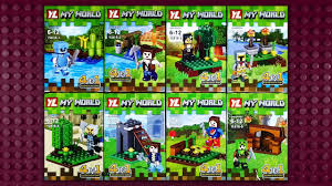 <b>LEGO Minecraft My World</b> Minifigures (knock-off) YL816 - YouTube